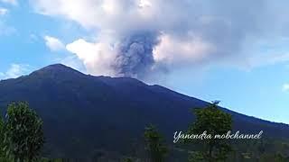 Mount Agung Eruption 22:02:2019 16:31 pm