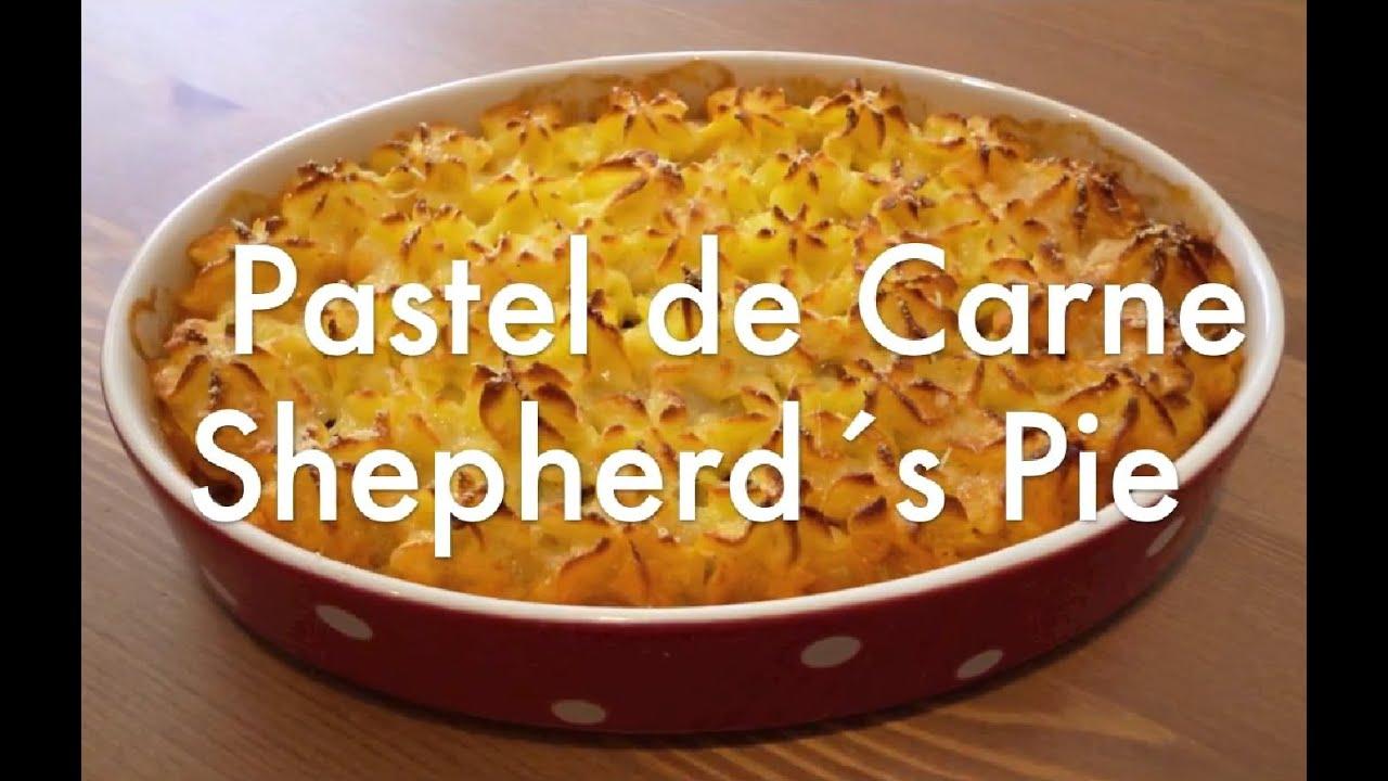 Pastel de carne Shepherd´s Pie - Recetas de cocina - YouTube