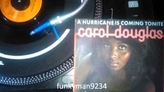 "Carol Douglas ""A Hurricane Is Coming Tonite"" 1975"