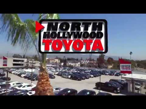 North Hollywood Toyota Drone Views - Los Angeles New Used Car Dealership