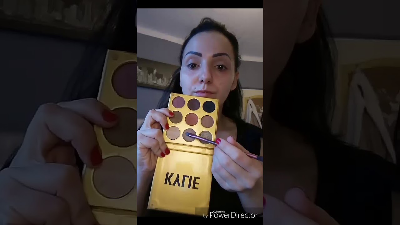 Maquillage Palette Kylie YouTube