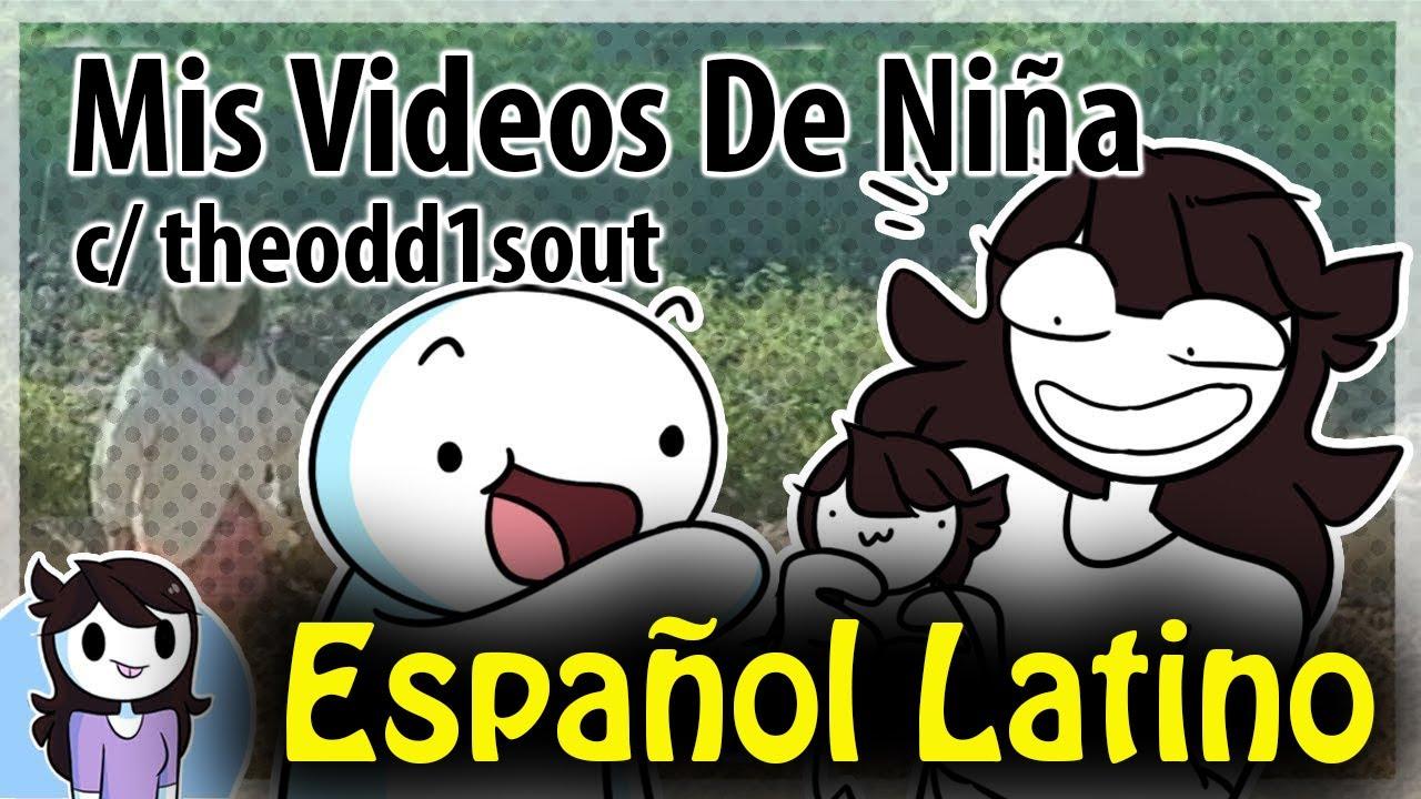 Viendo los videos de mi infancia con theodd1sout  / Jaiden Animations [Español Latino]