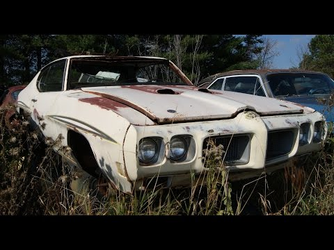 Muscle Car Junkyard Part 3 Two 69 Mach 1s On Top Of Ea Doovi