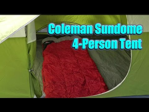 Setup and Review: Coleman Sundome 4-Person Tent