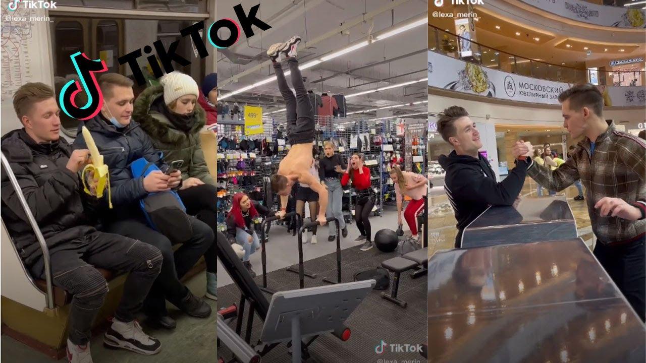 Alexey Merinov Hot TikTok Parkour Challenge 2021 popcornrest   TikTok Compilation PopCornRest