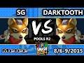 SSC - SG (Fox) Vs. Darktooth (Fox) SSBM R2 Pools - Smash Melee