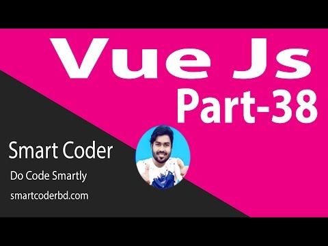 Vue Js Tutorial for beginners in BANGLA(#38) understand vue cli project thumbnail