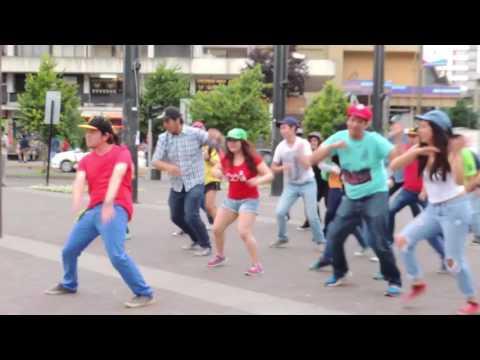 Flashmob 2016 - Bailar - Comunidad Just Dance Conce