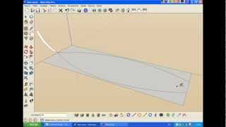 Video aula -Barco ( Boat ) - SketchUP & SketchyPhysics Aula 1 de 3