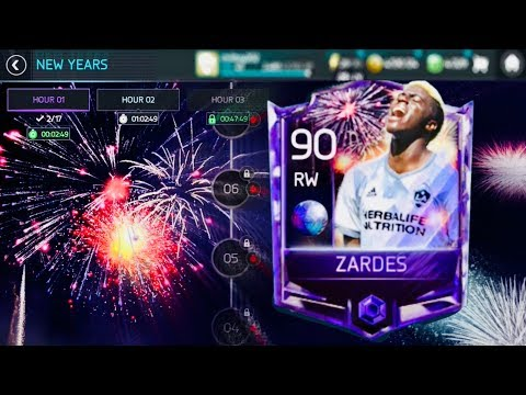 HAPPY NEW YEAR ZARDES TEASER (YOU CAN MAKE MILLIONS FROM COUNTDOWN EVENTS )- Fifa Mobile S2 2018