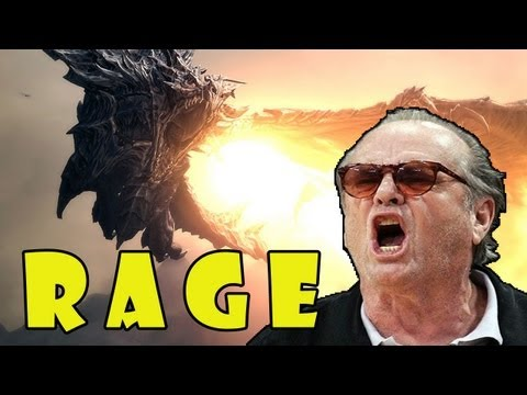 SKYRIM DRAGON RAGE