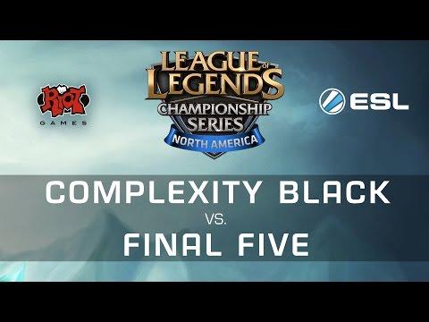 coL.Black vs F5 - LCS NA 15 Spring