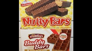 Little Debbie Nutty Bars Vs Mrs. Freshley's Buddy Bars Blind Taste Test