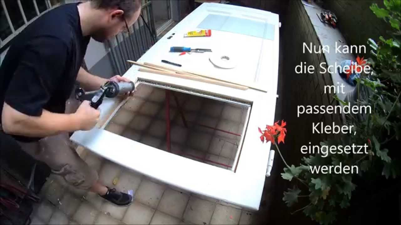 Fensterglas Wechseln Restoring And Painting An Antique Door