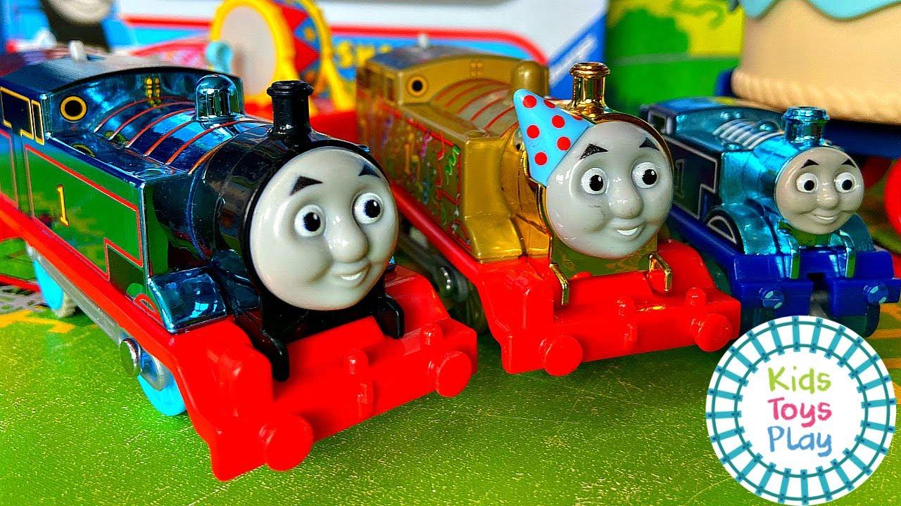 Thomas the Tank Engine 75th Birthday Celebration!