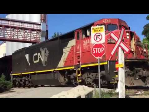 CN Freight Train In Vernon , BC , Canada 2019