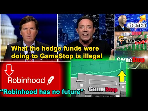 ¨The Wolf of Wall Street¨ Exposes the Hedge Funds & Robinhood with GameStop Situation-Tucker Car