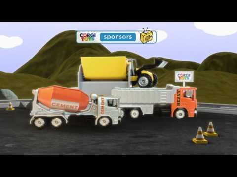 Corgi Toys 2012/13 TV Ads - Construction