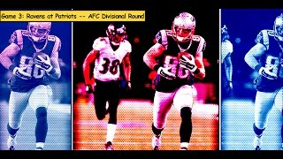 Ravens vs. Patriots | NFL 2014 Divisional Round Highlights