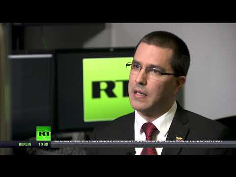 'We demand respect for Venezuela' - FM Jorge Arreaza on Western attacks (Going Underground)