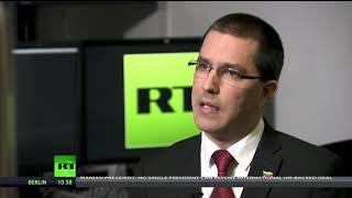 We demand respect for Venezuela - FM Jorge Arreaza on Western attacks (Going Underground)