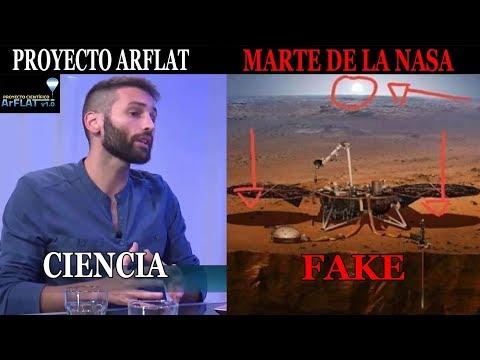 Iru Landucci // Marte de la NASA es un Montaje // ARFLAT es Ciencia Argentina