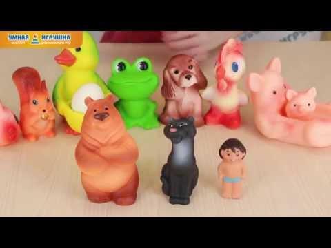 Детские резиновые игрушки «Огонёк»