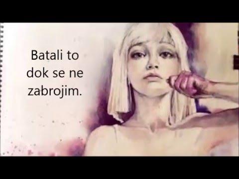 Sia - Chandelier (srpski prevod) - YouTube