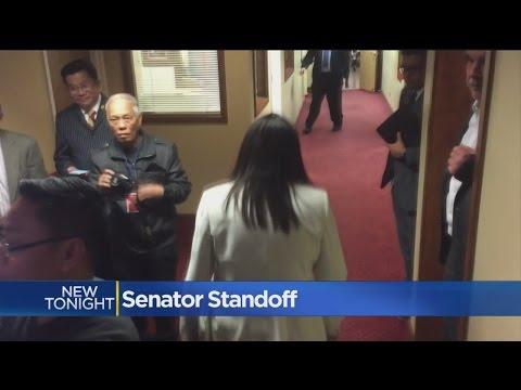 State Senator Walks Away From California Senate President Over Apology