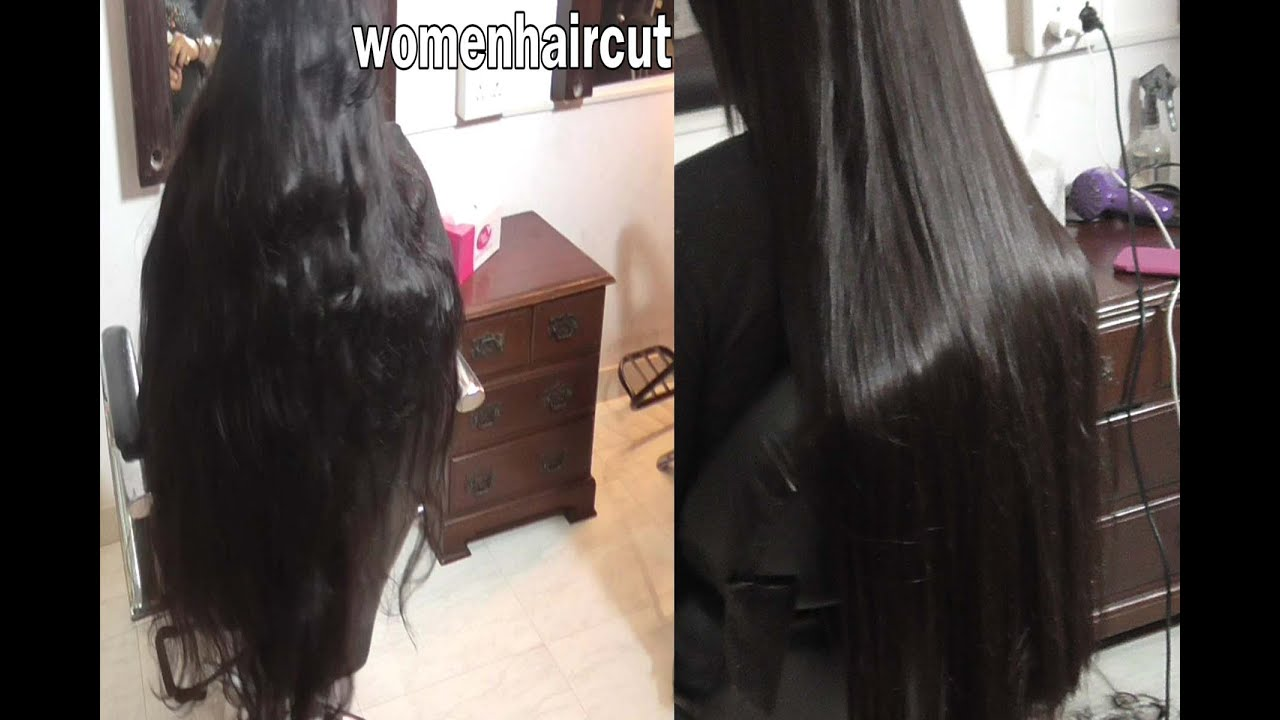 Super Long Haircut Part 3 Pre And Post Smoothening Youtube