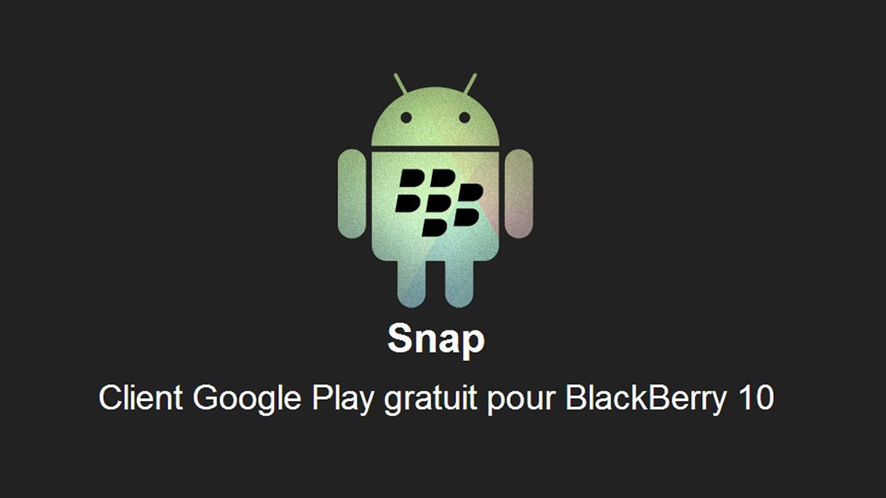 snapchat pour blackberry z30
