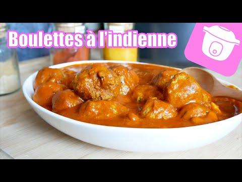 boulettes-de-viande-à-l'indienne-cookeo