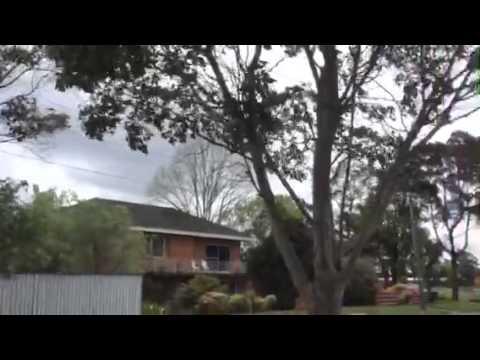 Sydney 110k/h Winds