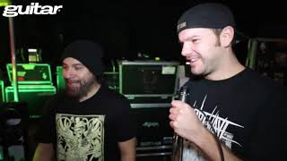 Obituary/Trevor Peres & Kenny Andrews (guitar-Backline)