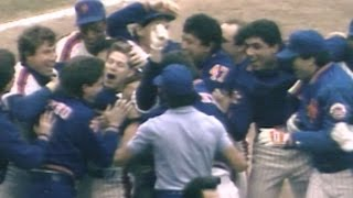 1986 NLCS Gm 3: Lenny Dykstra hits walk-off home run