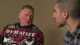 Brock Lesnar Talks Undertaker Confrontation, TUF 13, Junior dos Santos
