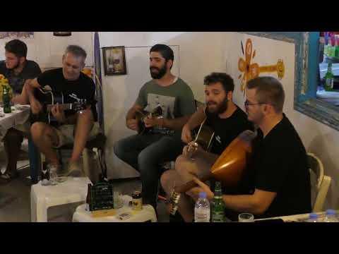 Cretan Music at Matala in Crete