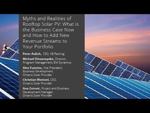 Myths and Realities of Rooftop Solar PV: What is the Business Case Now