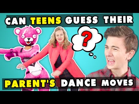 Parents Embarrass Their Kids While Recreating Popular Dance Moves