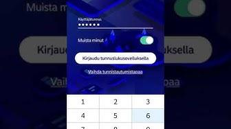 Näin kirjaudut mobiilipankkiin tunnuslukusovelluksella | Nordea Pankki