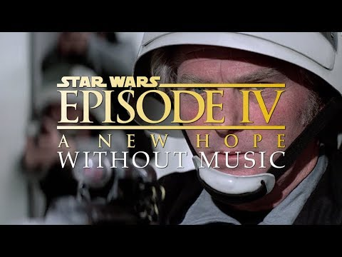 Opening Scene - Star Wars (WITHOUT MUSIC)