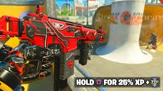 USE this DLC WEAPON during DOUBLE XP! (Black Ops 4 Peacekeeper MKII)