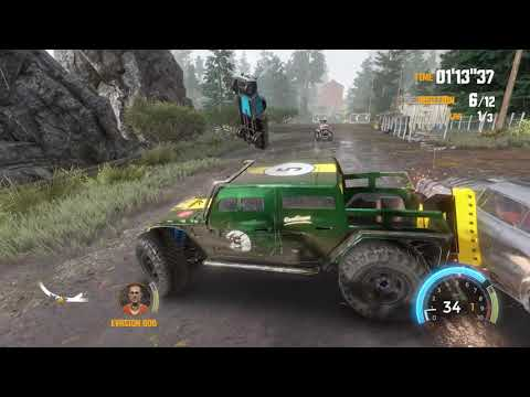 FlatOut 4 Total Insanity - PC GAMEPLAY | HD 1440P |