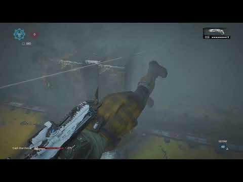 [4K] Gears of War 4 King Of The Hill On Drydock