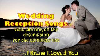 Wedding Reception Songs 2013