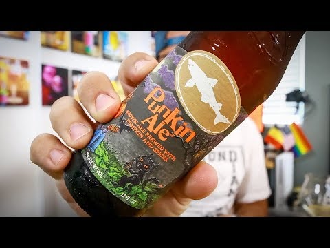 PUNKIN ALE - Dogfish Head Craft Brewery - Four Brewers Quickie