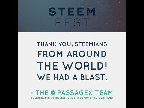 The PassageX Trip to SteemFest 2017 in Lisbon, Portugal!