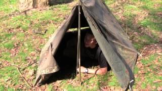 German Flecktarn Shelter Half Part 2, Equip 2 Endure