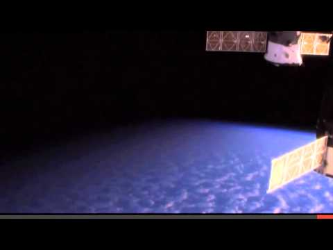 NASA CUTS LIVE SPACE FEED HD UFO APPEARS AT ISS 2014.flv