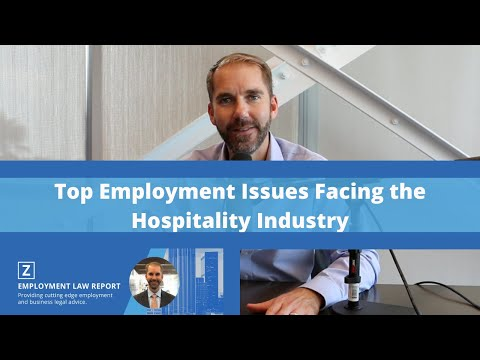 Top Employment Issues Facing the Hospitality Industry